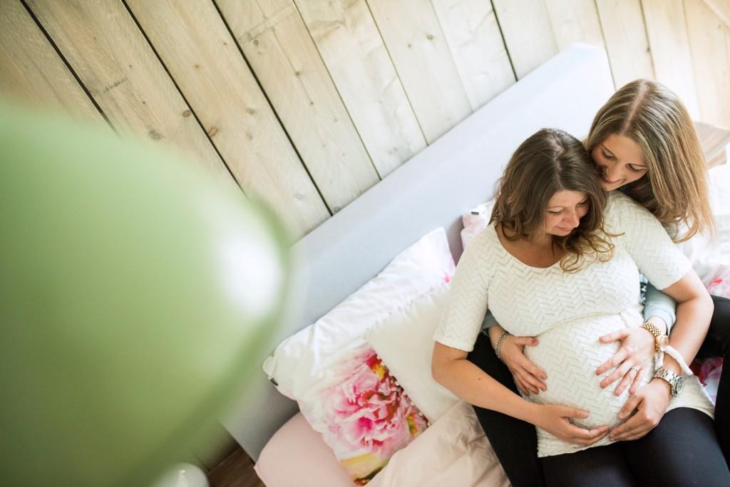 Lifestyle zwangerschapsfotograaf