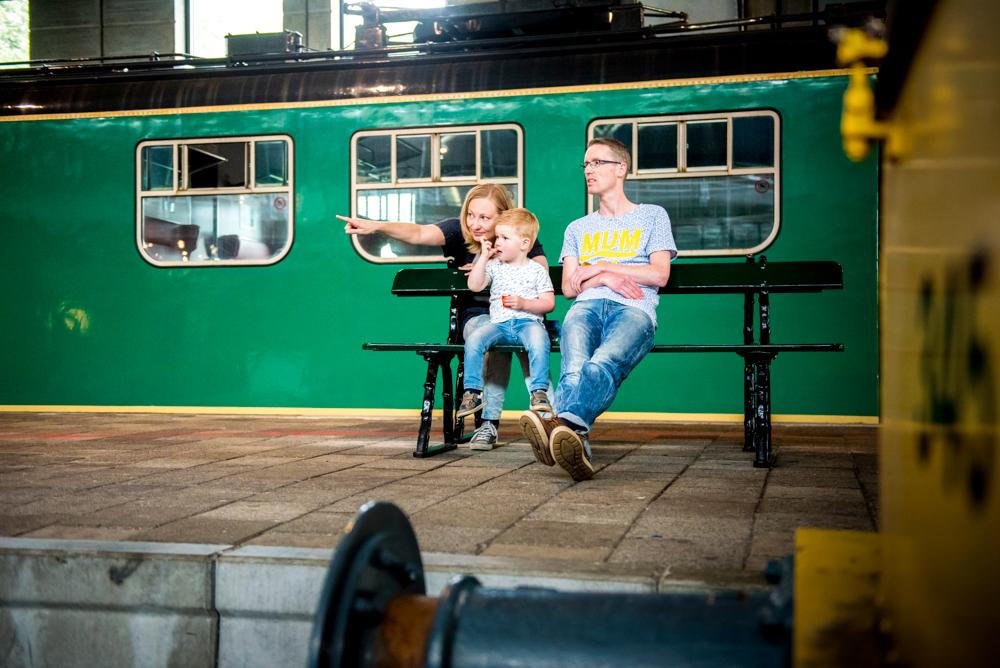 Familiereportage Spoorwegmuseum