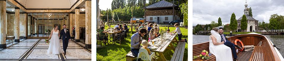 Trouwfotograaf in Leiden